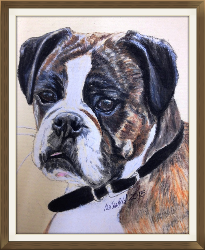 Pastel Pet Portrait